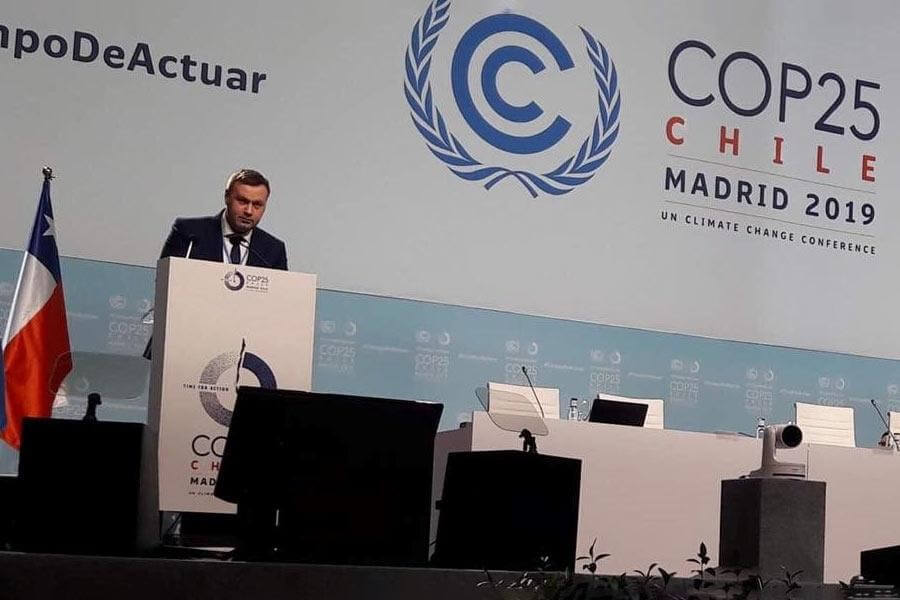 Ukraine Government Puts Forward New Climate Change Policies at COP 25